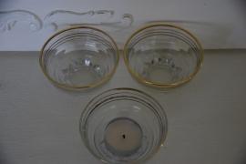 Setje bowl glaasjes