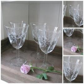 VERKOCHT Franse glazen - 2012029