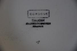 Prachtige Franse dekschaal