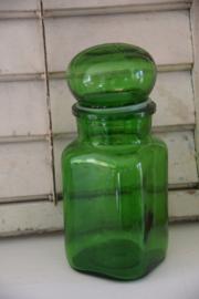 Grote vintage apothekersfles