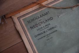Oude schoolkaart