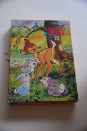 Vintage puzzel Bambi Walt Disney – Jumbo puzzle