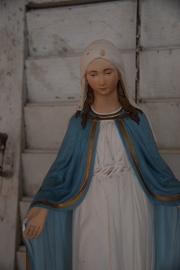 Prachtig oud Maria beeld!