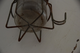 Oude looplamp