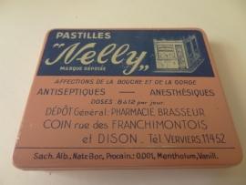 Oud pastilles blikje