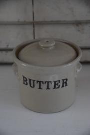 Grote Engelse butter pot
