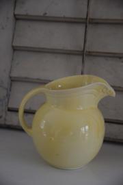 Prachtige gele brocante kan
