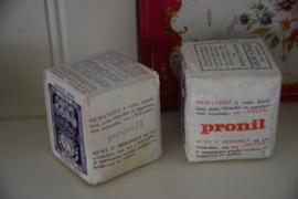 Oude verpakkingen Remy stijfsel