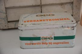Vintage verbandtrommel