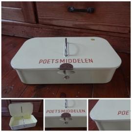 VERKOCHT Poetsmiddelen doos - 2013010