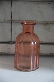 Lief roze glazen vaasje