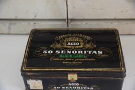 Oud Agio sigarenblik