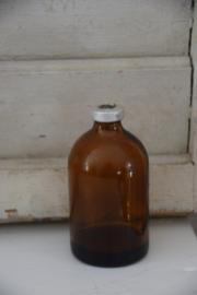 Oud bruin flesje