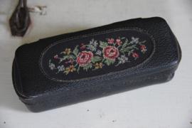 Vintage petit point naaitasje