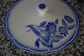 Frans blauwe dekschaal