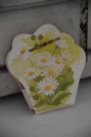 Gastenzeepje in bloemen tasje