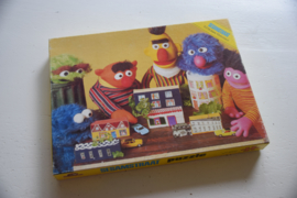 Vintage sesamstraat puzzel