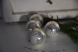 Oude kerstballen set