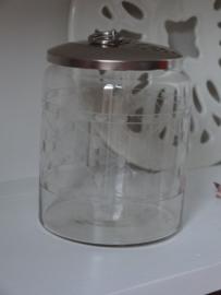 Prachtige glazen pot