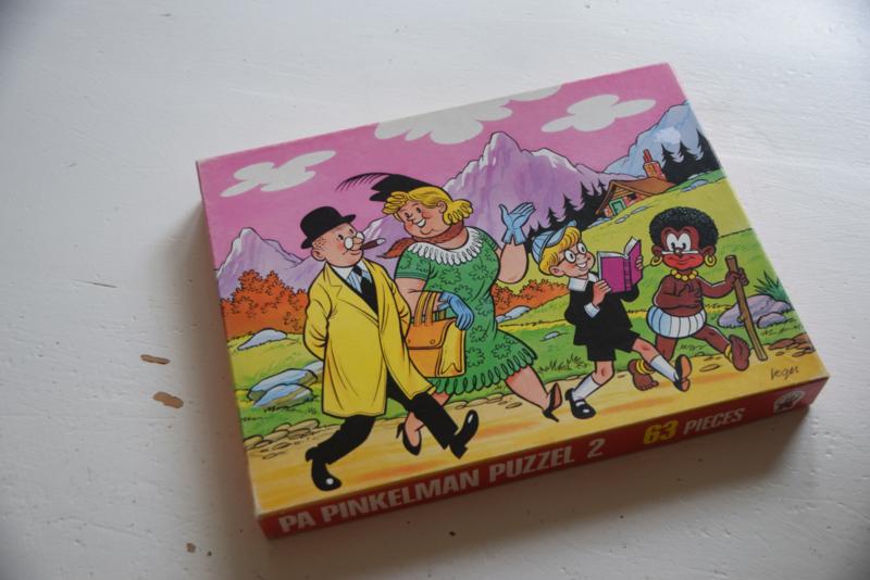 Vintage puzzel Pa Pinkelman