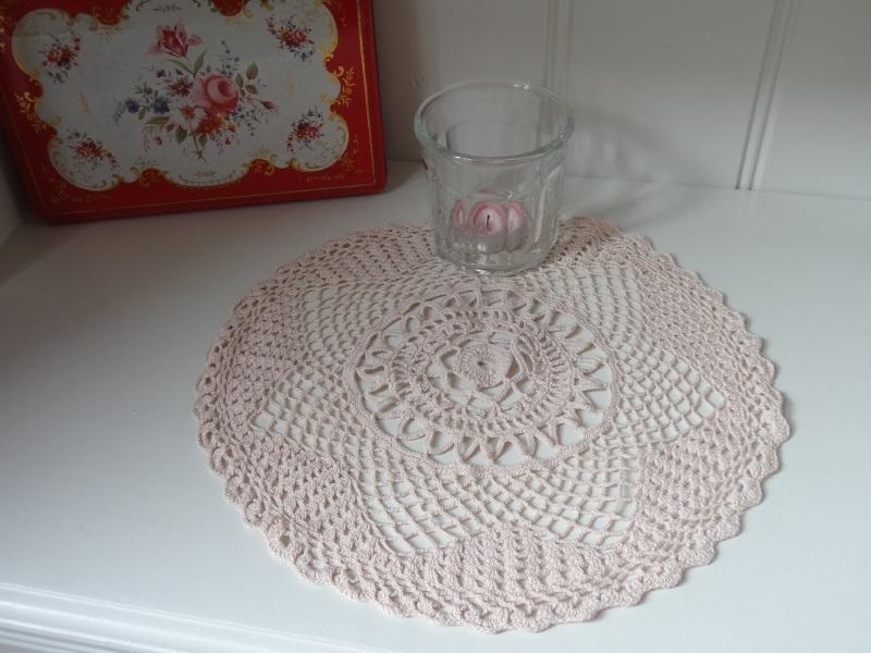 Oud roze kleedje