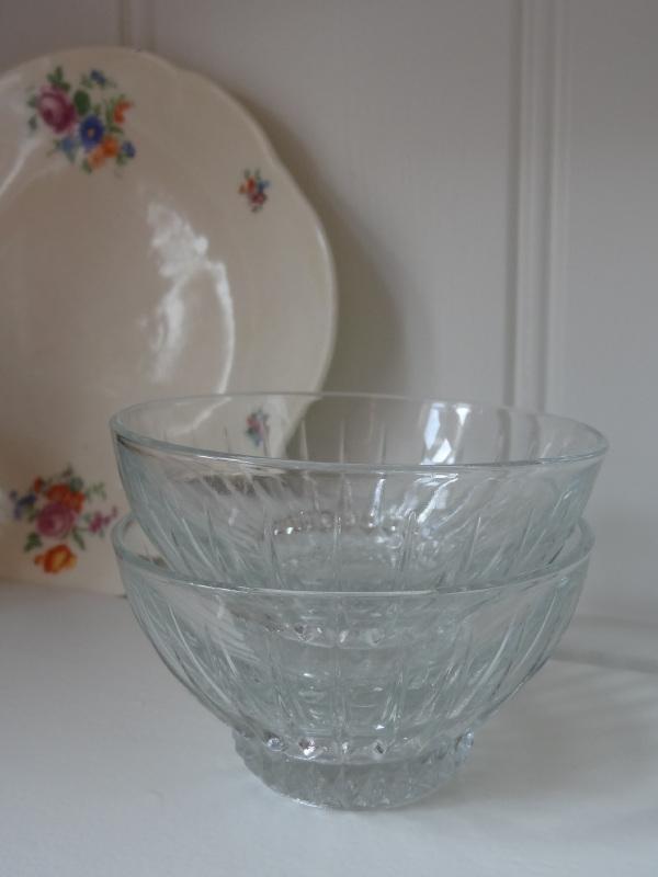 Set bowl glaasjes