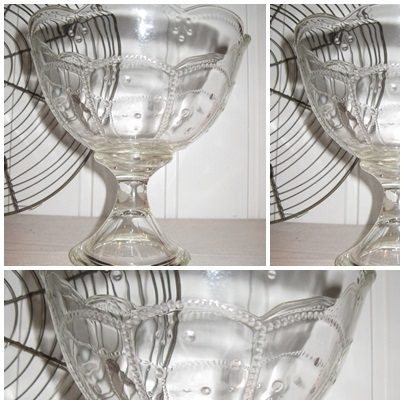 VERKOCHT Glazen bokaal - 2011017