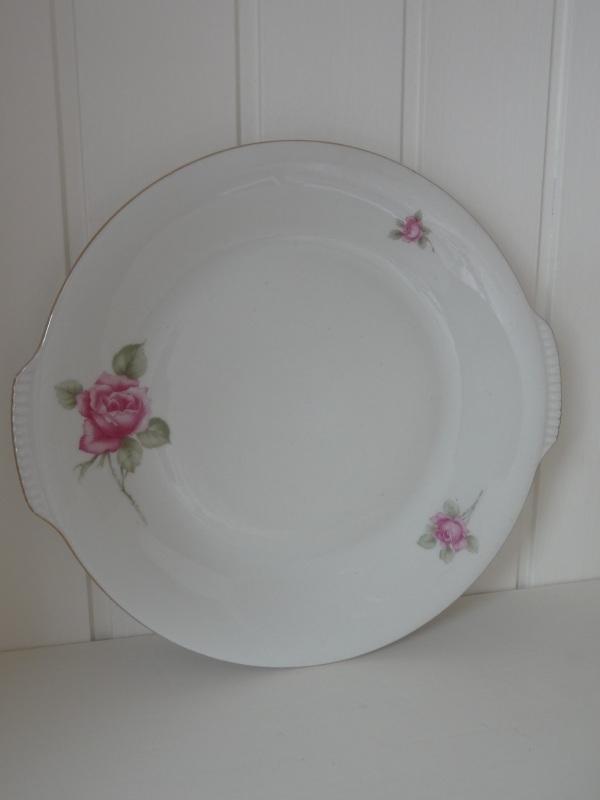 Brocante rozenschaal