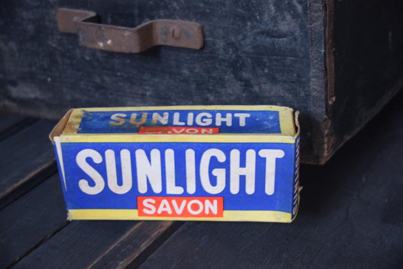 Stoere oude Sunlight savon