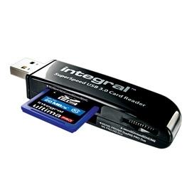 Integral USB 3.0  super speed CARD READER