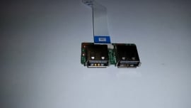 Dual USB board met kabel HP Pavilion DV6  39up6ub0000