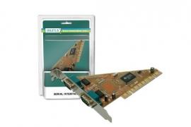 COM poort, subd9 Digitus 2 Port Serial PCI Kaart
