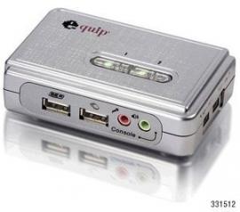 Equip 331512 Pocket KVM Switches USB + Audio