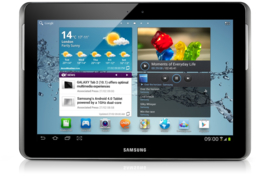 Samsung Tablet Galaxy Tab2 10.1 incl. hoes