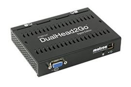 Matrox DualHead2Go (VGA naar 2x DVI)