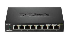 D-Link DGS-108 8 poorts gigabit switch