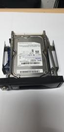 "HD wisselframe 5,25"" voor 1 sata hard disk"