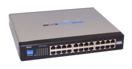 Linksys (Cisco) SR224 24-Port 10/100 Switch