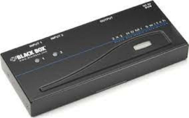Black Box 4K  HDMI Splitter 2 x 1 avsw-hdmi 2x1