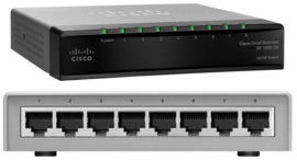 Cisco SF100D-08P 8-Port 10 100