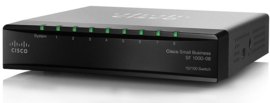 Cisco SF100D-08 switch  8 port 10/100Mbps