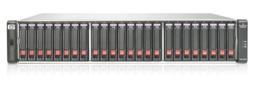 HP StorageWorks P2000 G3 SAS MSA Dual Controller SFF Array System