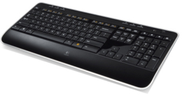 Logitech K520 wireless keyboard