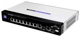 Linksys SRW208MP 8-Port Managed Ethernet Switch met WebView