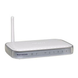 NetGear WGR614 54 Mbps Wireless Router
