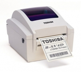 Toshiba B-SV4D Thermische barcode printer.