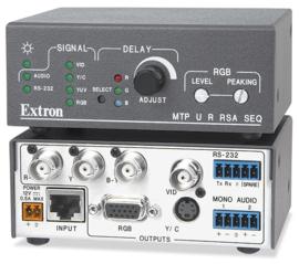 Extron MTP U R RSA SEQ Twisted pair receiver