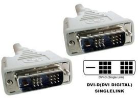 DVI-D Single link (18+1) kabel 1,80 Mtr