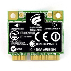 Atheros AR5B95H  150Mbps Wireless half Mini PCI-e Adapter