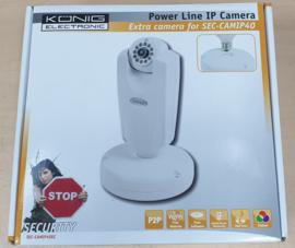 Konig Power Line IP Camera (for SEC-CAMIP40)